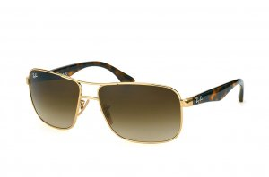 Очки Ray-Ban Highstreet RB3516-001-13 Arista | Gradient Brown