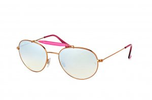 Очки Ray-Ban Highstreet RB3540-198-8U Dark Arista/Pink | Mirror Blue Yellow