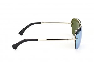 Очки Ray-Ban Highstreet RB3541-003-30 Silver | Silver Mirror