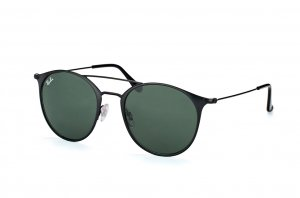 Очки Ray-Ban Highstreet RB3546-186 Black | Natural Green (G-15XLT)