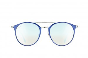 Очки Ray-Ban Highstreet RB3546-9010-9U Blue/Silver| Mirror Blue Yellow