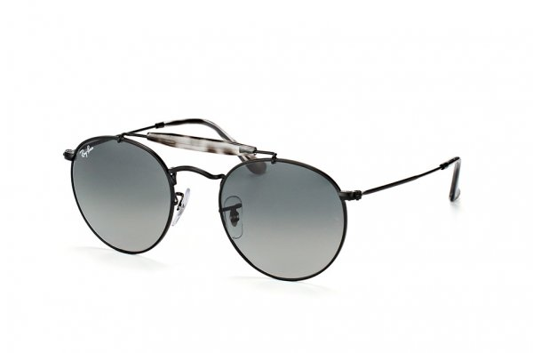 Очки Ray-Ban Highstreet RB3747-153-71 Black | Green / Grey