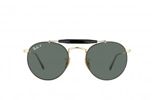 Очки Ray-Ban Highstreet RB3747-9000-58 Arista | Natural Green Polarized