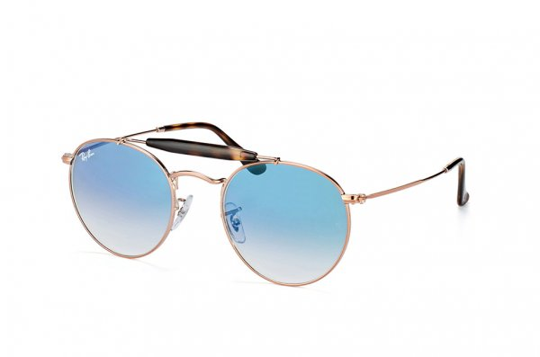 Очки Ray-Ban Highstreet RB3747-9035-3F Dark Arista | Gradient Light Blue