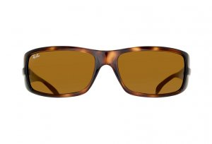 Очки Ray-Ban Highstreet RB4057-642 Tortoise | Natural Brown (B-15XLT)
