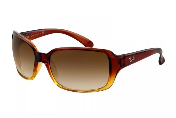 Очки Ray-Ban Highstreet RB4068-828-51 Gradient Brown / Yellow | Gradient Brown
