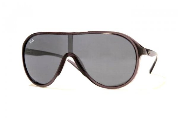 Очки Ray-Ban Highstreet RB4077-606-87 Grey Transparent| Grey