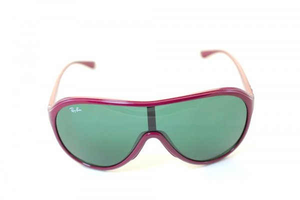 Очки Ray-Ban Highstreet RB4077-739-71 Red |Grey / Green