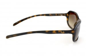 Очки Ray-Ban Highstreet RB4131-710-13 Shiny Avana | Gradient Brown