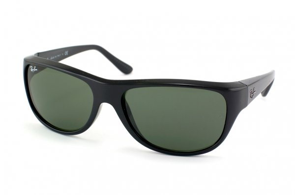 Очки Ray-Ban Highstreet RB4138-601 Black | Natural Green (G-15 XLT)