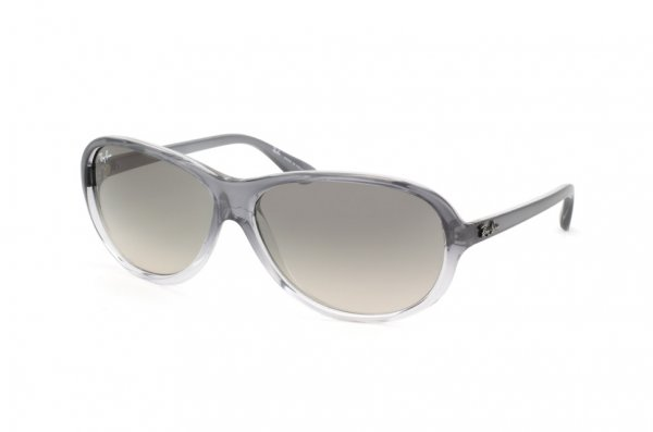 Очки Ray-Ban Highstreet RB4153-818-32 Gray Gradient Transparent | Gradient Grey