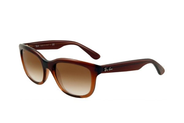 Очки Ray-Ban Highstreet RB4159-827-51 Brown Faded Transparent | Faded Brown