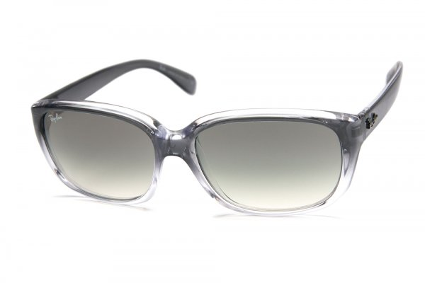 Очки Ray-Ban Highstreet RB4161-818-32 Gray Gradient Transparent | Gradient Grey