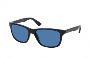 Очки Ray-Ban Highstreet RB4181-601-80 Black | Dark Blue