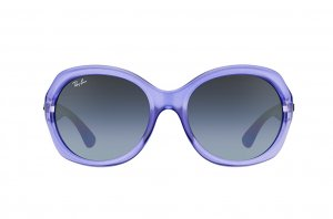 Очки Ray-Ban Highstreet RB4191-6106-8G Violet Transparent / Lilac | Poly. Gradient Grey