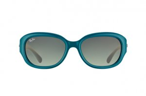 Очки Ray-Ban Highstreet RB4198-6047-71 Turquoise Green | Green Grey
