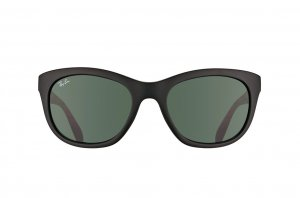 Очки Ray-Ban Highstreet RB4216-601S-71 Matt Black | Grey /Green