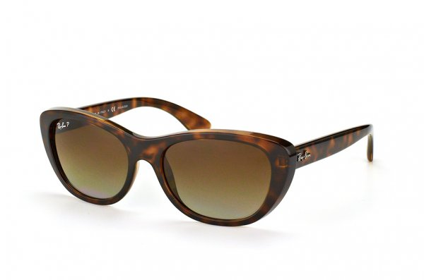 Очки Ray-Ban Highstreet RB4227-710-T5 Havana| Brown Gradient Polarized