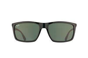 Очки Ray-Ban Highstreet RB4228-601-71 Black | Green/Grey