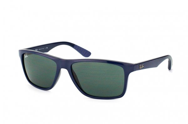 Очки Ray-Ban Highstreet RB4234-6197-71 Blue | Grey/Green