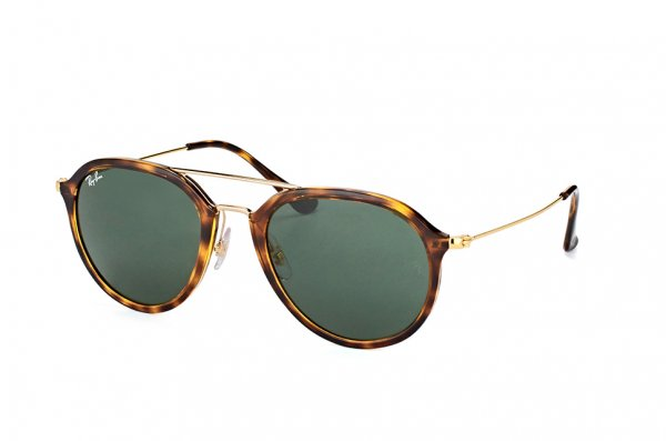 Очки Ray-Ban Highstreet RB4253-710 Havana/Arista| Natural Green (G-15XLT)