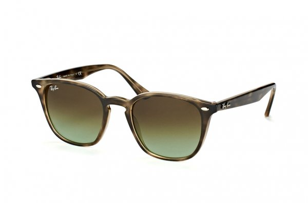 Очки Ray-Ban Highstreet RB4258-731-E8 Dark Havana | Faded Green