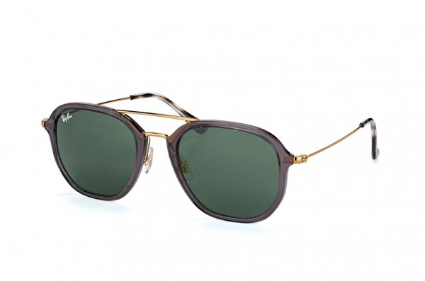 Очки Ray-Ban Highstreet RB4273-6237 Dark Violet | Natural Green (G-15XLT)