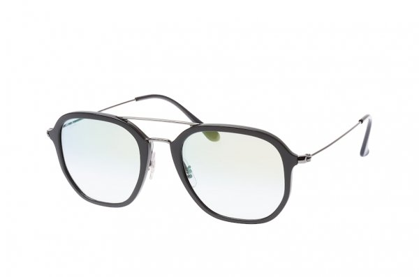 Очки Ray-Ban Highstreet RB4273-6333-Y0 Black / Silver | Gradient Light Gold