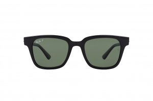 Очки Ray-Ban Highstreet RB4323-601-9A Black | Natural Green Polarized
