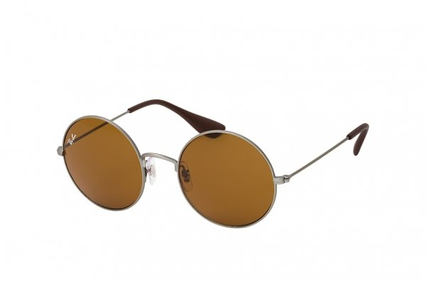 Очки Ray-Ban Ja-Jo RB3592-9015-73 Gunmetal | Natural Brown