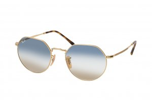 Очки Ray-Ban Jack RB3565-001-GD Arista | Blue / Brown Gradient