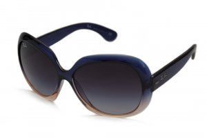 Очки Ray-Ban Jackie Ohh II RB4098-785-8G Blue Faded Orange/Poly Gradient Grey