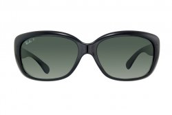 Очки Ray-Ban Jackie Ohh RB4101-601-58 Black | Natural Green Polarized