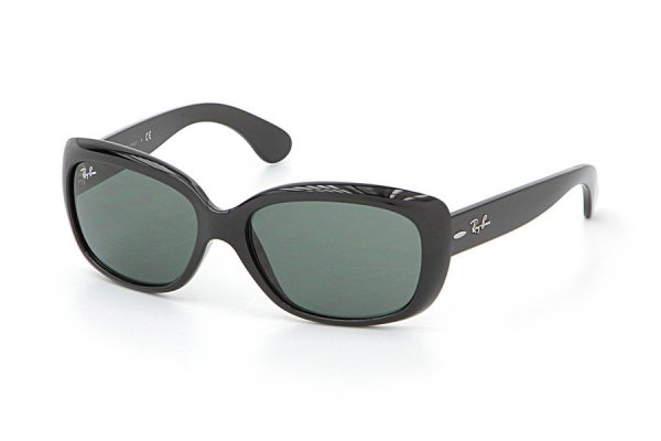 Очки Ray-Ban Jackie Ohh RB4101-601 Black | Natural Green (G-15XLT)