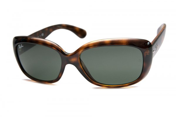 Очки Ray-Ban Jackie Ohh RB4101-710 Dark Havana | Natural Green (G-15XLT)