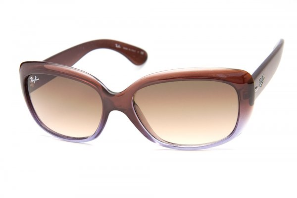 Очки Ray-Ban Jackie Ohh RB4101-860-51 Brown Clay/Lilac/Faded Brown