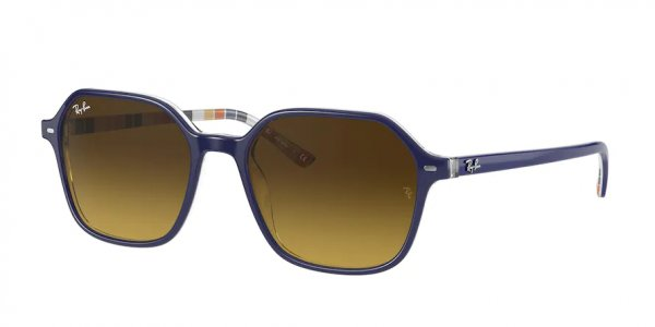 Очки Ray-Ban John RB2194-1320-85 Blue | Dark Brown Gradient