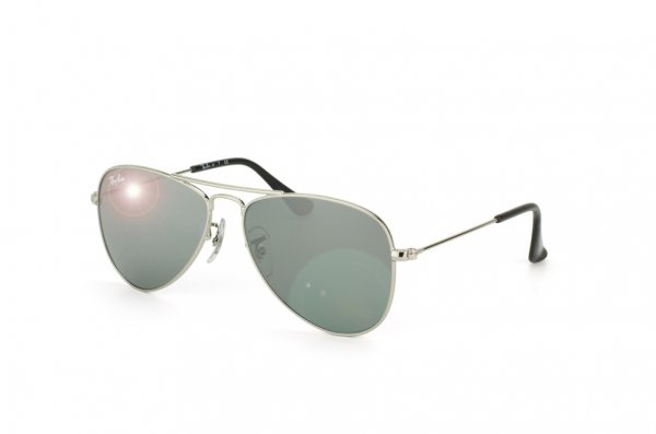 Очки Ray-Ban Kids and Junior Aviator RB9506S-212-6G Silver/ Silver Mirror