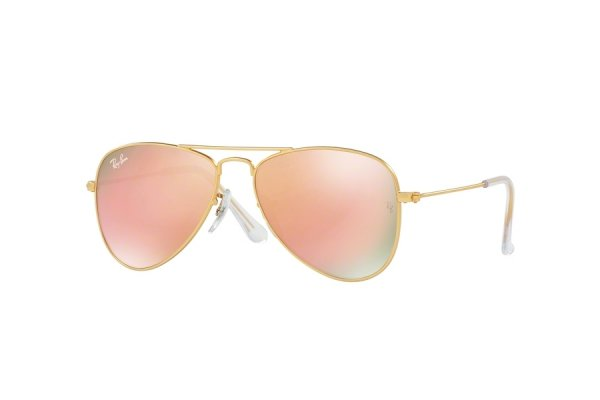 Очки Ray-Ban Kids and Junior Aviator RB9506S-249-2Y Arista | Pink Orange Mirror