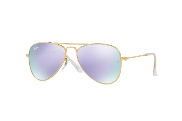 Очки Ray-Ban Kids and Junior Aviator RB9506S-249-4V Arista | Violet Mirror