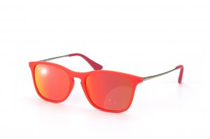 Очки Ray-Ban Kids and Junior Chris RB9061S-7010-6Q Red / Chrome | Red Mirror