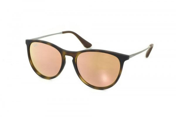 Очки Ray-Ban Kids and Junior Izzy RB9060S-7006-2Y Havana | APX Light Pink Mirror