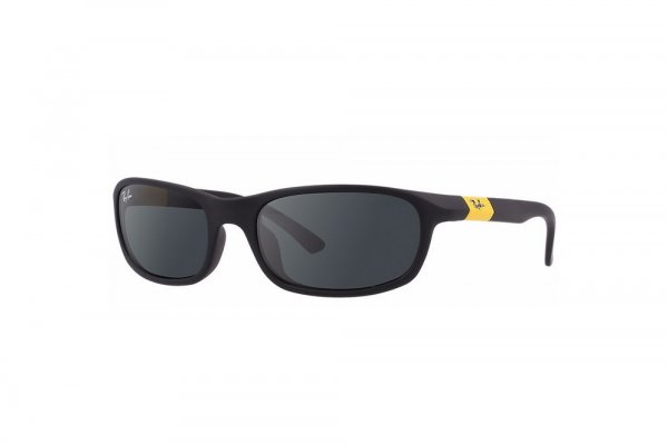 Очки Ray-Ban Kids and Junior RB9056S-195-87 Black/Yellow| Dark Blue