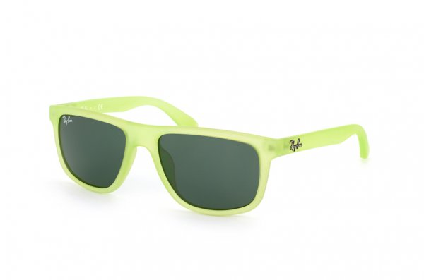 Очки Ray-Ban Kids and Junior RB9057S-198-71 Matte Transparent Green | Green