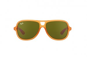 Очки Ray-Ban Kids and Junior RB9059S-7003-73 Matte Orange | Brown/Green