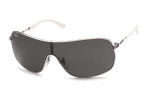 Очки Ray-Ban Kids and Junior RB9530S-212-87 Silver/White Temple/Grey