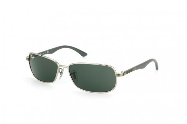 Очки Ray-Ban Kids and Junior RB9531S-239-71 Silver/Grey | Green