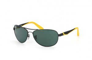 Очки Ray-Ban Kids and Junior RB9534S-220-71 Black | Yellow | Green