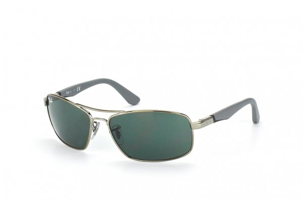 Очки Ray-Ban Kids and Junior RB9536S-200-71 Gunmetal / Grey| Grey/Green