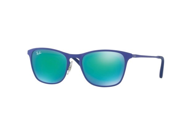 Очки Ray-Ban Kids and Junior RB9539S-255-3R Blue | Green Mirror